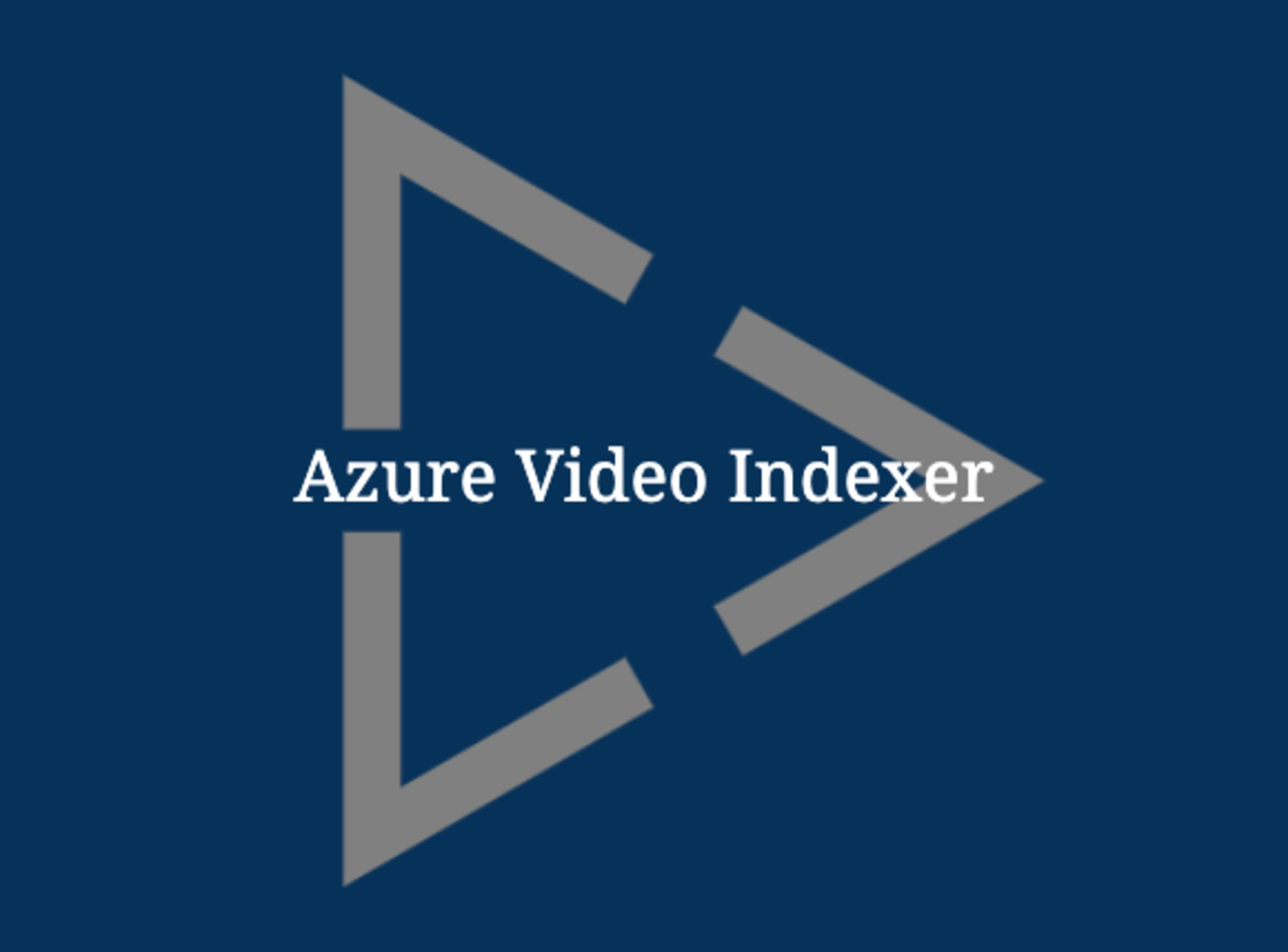 Getting Started with Azure Video Indexer and PowerShell