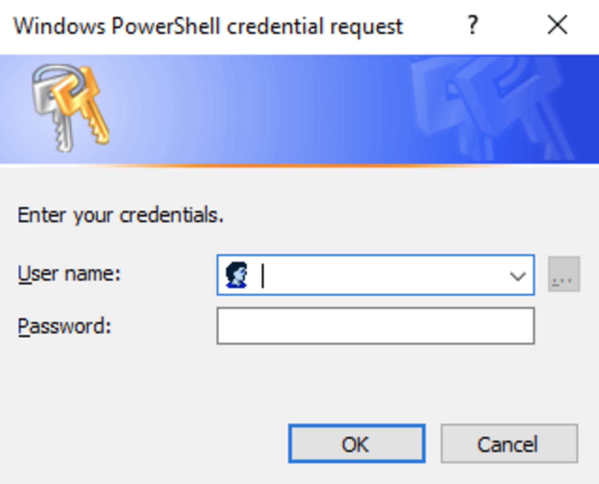Using the PowerShell Get-Credential Cmdlet and all things credentials