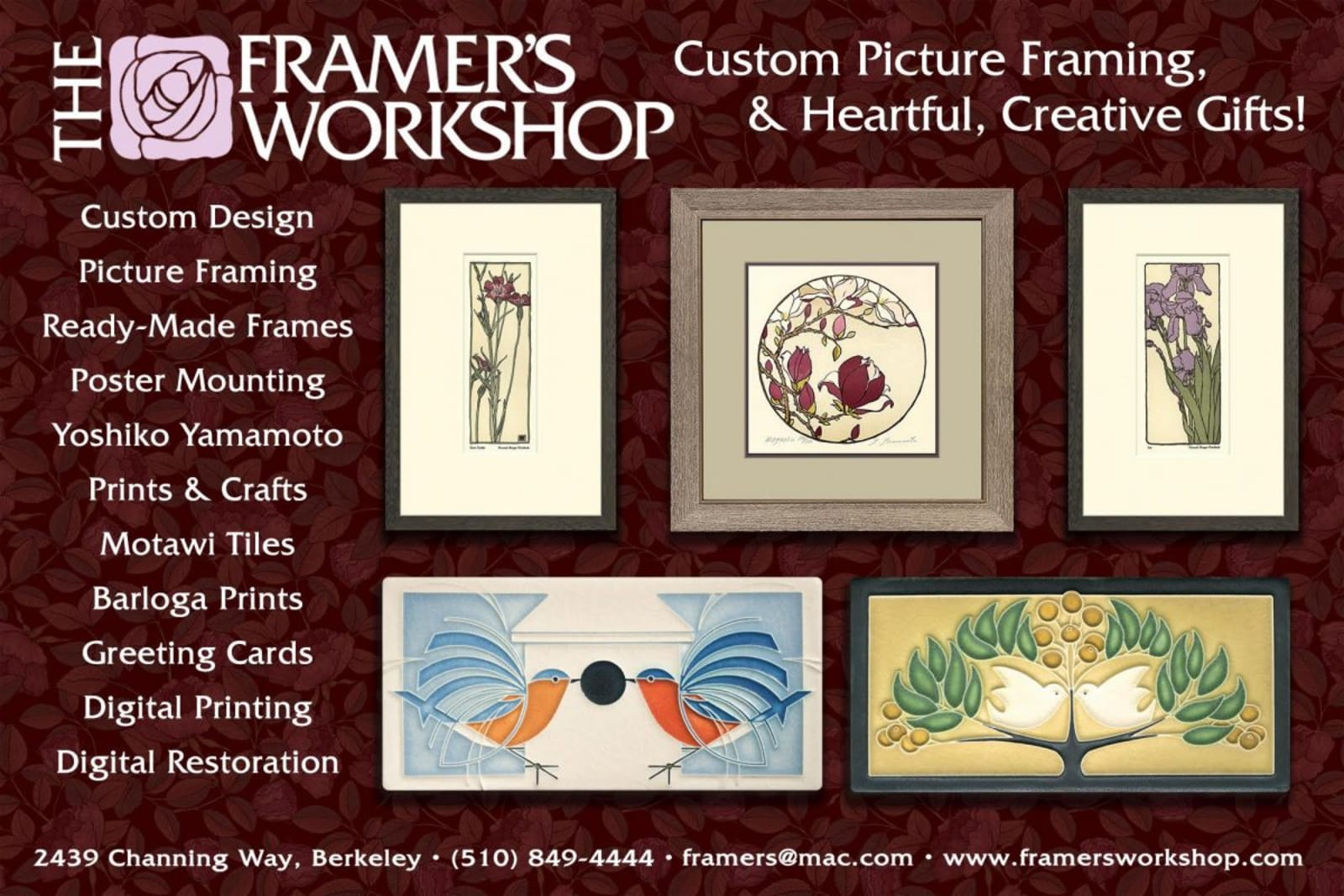Gifts at The Framer's Workshop