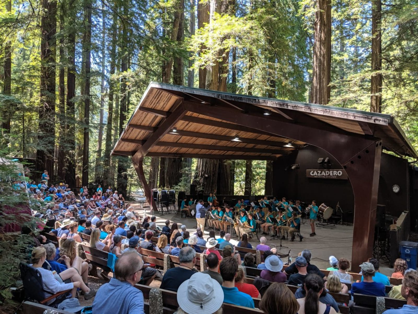 Gifts at Cazadero Music Camp