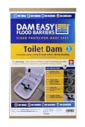 Dam Easy® Toilet Dam