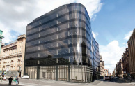 110 Queen Street mixed-use office/retail project in Glasgow