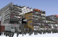 Phase two of Birmingham City University's Parkside Building