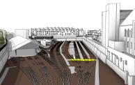 BIM model of the London Sidings for TfL