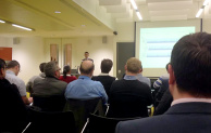 The audience hears about the NBS BIM Toolkit