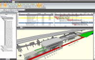Synchro applied Bentley Systems' iModel work packaging on Crossrail