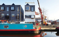 Urban Splash's hoUse modular homes are installed in Manchester