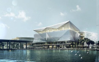 A similar competition in Sydney challenged participants to re-design the Sydney Convention Centre