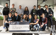 The #CityHack18 winners are Sigmund Freight who are going to provide conscious waste management for London