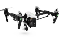 A DJI Inspire 1 drone, as used by Crossrail