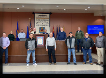 Working group members, headed by Southwest Regional Council of Carpenters' vice president, Frank Hawk (SWRCC)