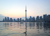 Toronto skyline and Lake Ontario (Robert Linsdell/CC BY 2.0)