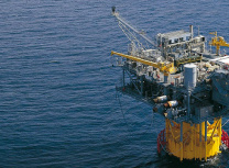 A platform, off Mexico, of Italian oil and gas company Eni, which is involved in Mozambique's Rovuma Basin project (Eni)