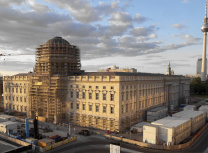 The Humboldt Forum is taking shape in the reconstructed Berlin Palace, destroyed by the East German government in 1950 (www.humboldtforum.org)