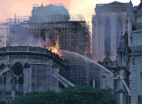 Notre Dame cathedral in Paris was ravaged by fire in April this year (Cangadoba/CC BY-SA 4.0)
