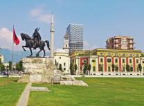 Skanderberg Square in the centre of Tirana, capital of Albania (AltynAsyr/CC BY-SA 3.0)