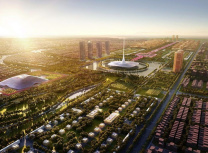 Visualisation of Amaravati by Foster + Partners