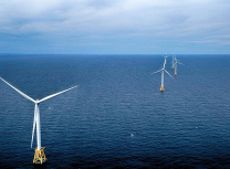America's first offshore wind farm off the coast of Rhode Island (Ionna22/CC BY-SA 4.0)