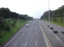 Portugal's A5 motorway, operated by Brisa (CC BY-SA 3.0)