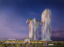 Steelman Partners' concept design for the resort