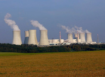 The Dukovany nuclear power plant is located near Brno in the south of the Czech Republic (Public Domain)