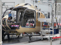Airbus' helicopter final assembly line in Qingdao (Airbus)