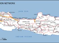 Java's road and rail network (Gunawan Kartapranata /CC BY-SA 3.0)