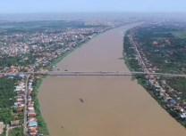 The Mekong River at Tan Chau in Kandal province (Peter1170/CC BY 4.0)