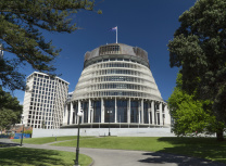 New Zealand government buildings (Peter Sobolev/Dreamstime)