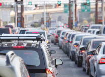 A traffic jam in Beijing, China (Linqong/Dreamstime)