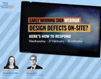 Early Warning Signs on Major Construction Projects – An On-Demand Webinar Series by Global Law Firm