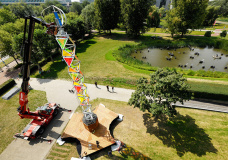 "Eindhoven university unveils ""Green Energy Mill"" to power festivals renewably"