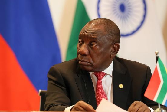 South African President Cyril Ramaphosa during a BRICS summit in Brazil, November 2019 (Palácio do Planalto/CC BY 2.0)