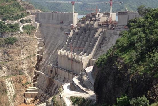 The Gibe III dam on the Omo River, Ethiopia (Mimi Abebayehu/CC BY-SA 4.0)
