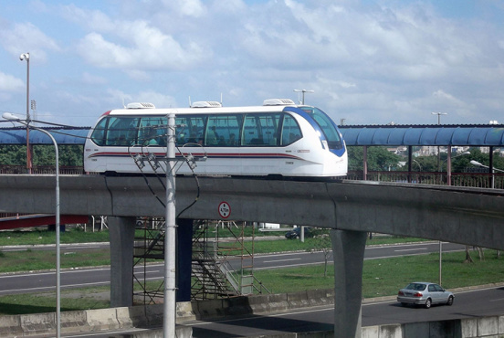 Ai SkyTrain Consortium's rendering of the monorail