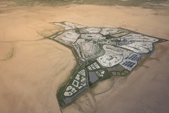 Artist's render of Egypt's New Administrative Capital (Courtesy of the Urban Development Consortium, UDC+5)