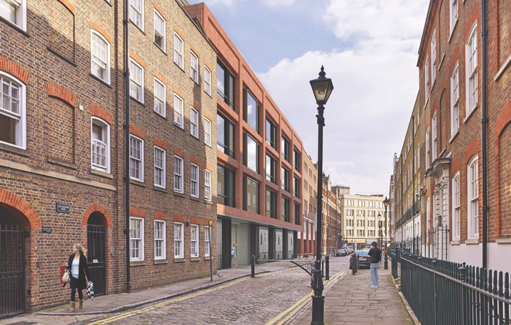 Folgate Court in London is an office conversion by Orms