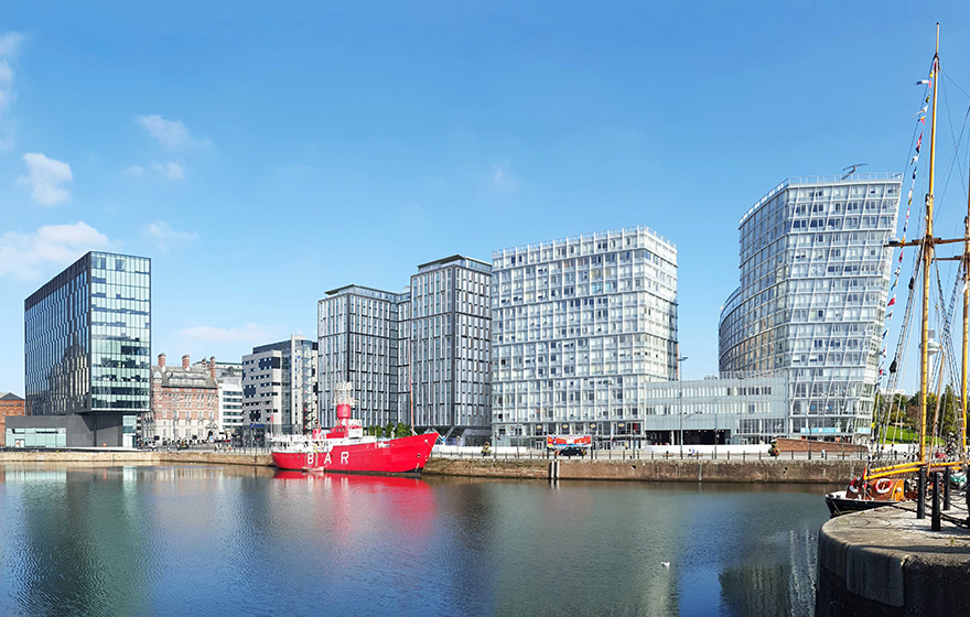 Graham is building a 383-unit build-to-rent development on Liverpool's waterfront