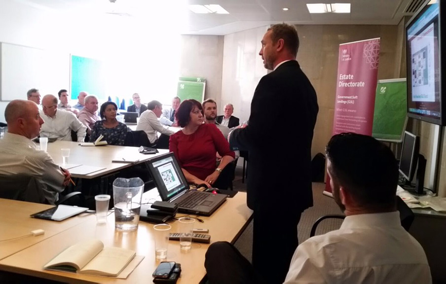 BIM4AIM in action with Matthew Watchorn and Chris Barker leading the group