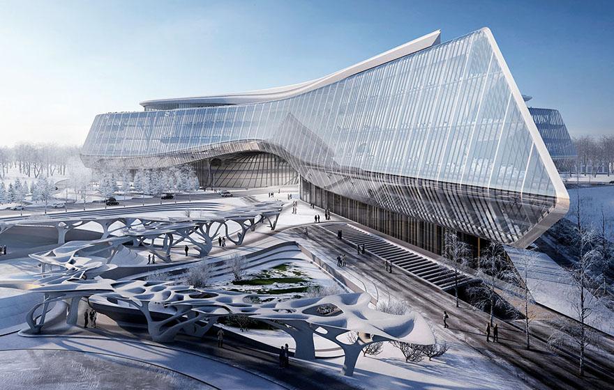Sberbank Technopark HQ exterior view