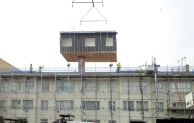 At Portsmouth SIPs modules were used to add top-floor apartments