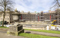 Vinci Construction's £50m redevelopment of the Georgian Buxton Crescent in Derbyshire