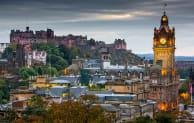 Edinburgh at night/Dreamstime
