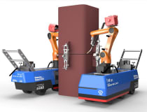 "The ""Robo-Welder"", developed to weld steel columns by Japanese contractor, Shimizu Corporation"