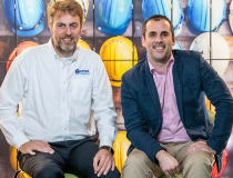Andy Dunkley (left), CEO of CMOStores.com, with marketing director Ben Hodson