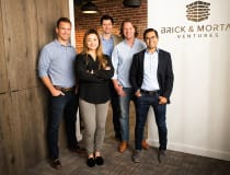 Image: Brick & Mortar's team, Darren Bechtel second from right (Brick & Mortar)