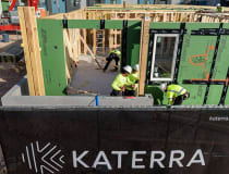 Image: Katerra designed K90, a 24-unit apartment building, to be completed in 90 days near Las Vegas (Trevor DeWitt/Katerra)