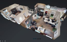 Matterport 3D virtual tour of The Curious Agency in Shrewsbury