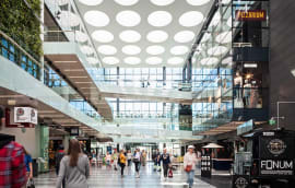 Image: WSP was responsible for structural design at the Valkea Shopping Centre in Oulu, Finland (60 shops plus apartments)
