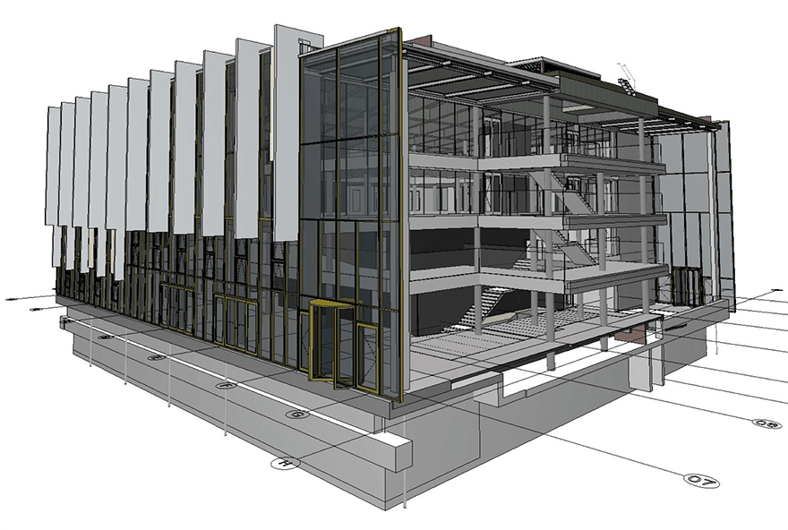 University of Kent library - Creating a flagship extension with BIM